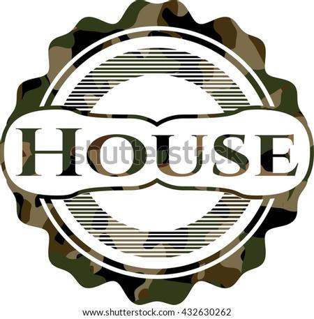 House camo emblem