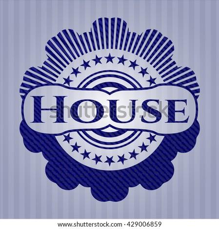 House denim background