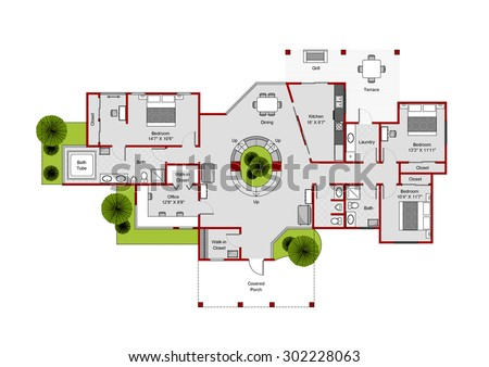 Floorplan Elements Download Free Vector Art Stock Graphics &