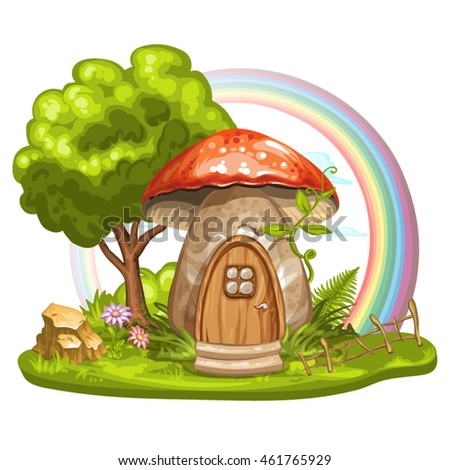 house for gnome made from