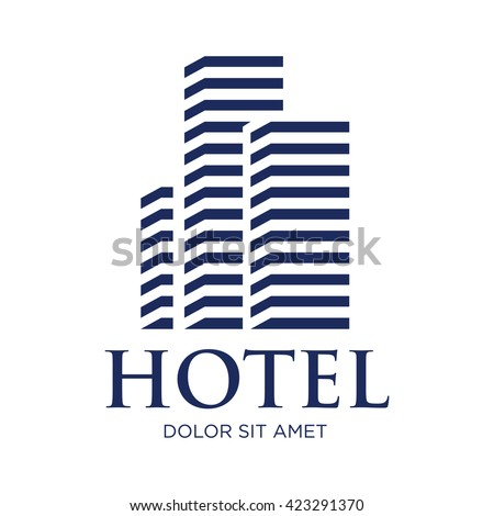 house  hotel and apartment logo