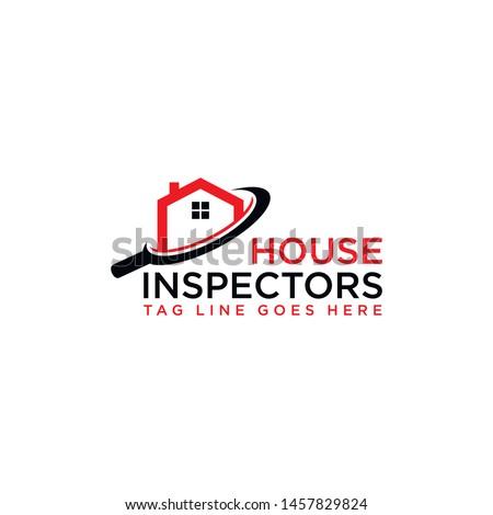 House Inspectors Logo Design Vector