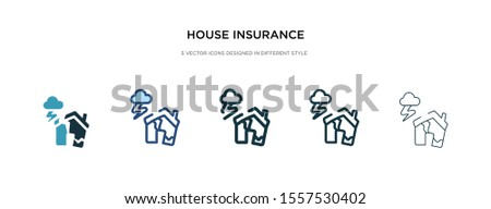 house insurance for storms icon