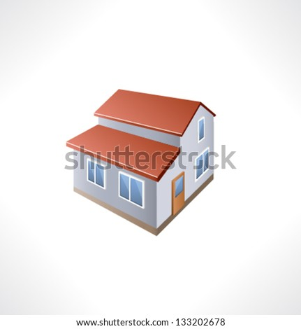 House Isometric Building.
