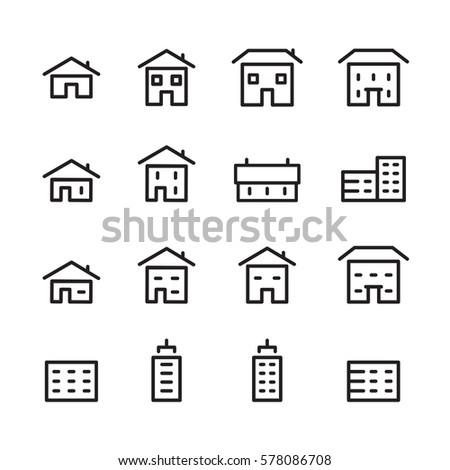 house line icon
