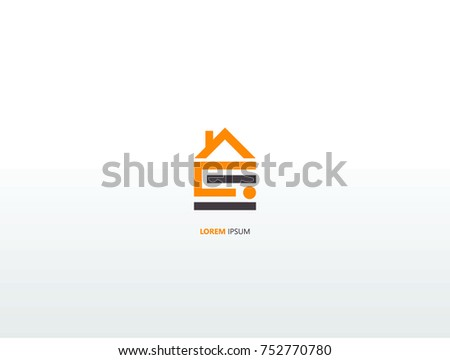 House logo.modern design.vector illustration