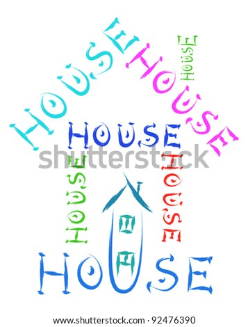 house made of words