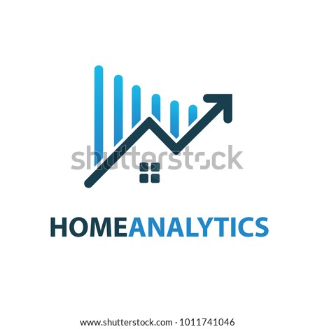 House market logo design template