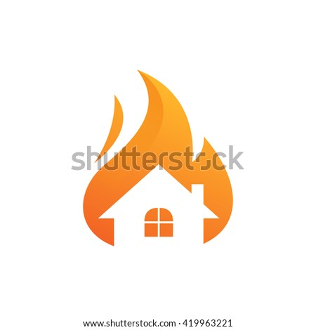 house on fire  preventing fire
