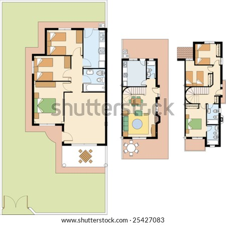 Duplex House Plans For Mupltiple Family Dwellings