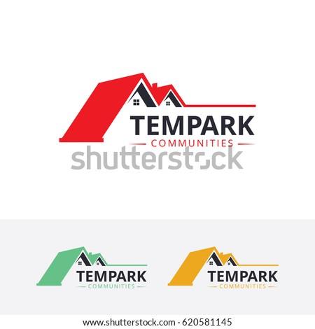 House, Real Estate. Vector logo template