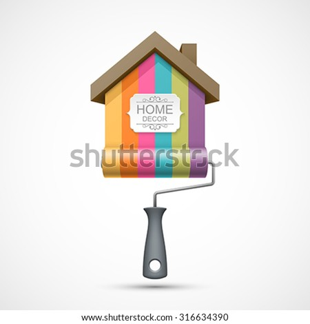 house renovation icon painting