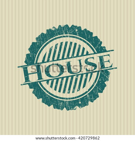 House rubber stamp