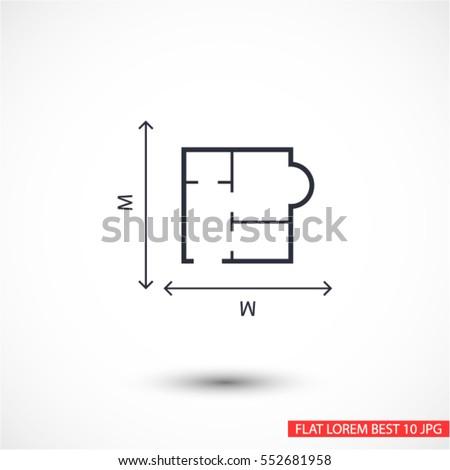 house size  icon