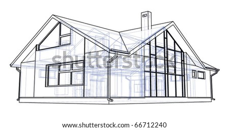 house technical draw