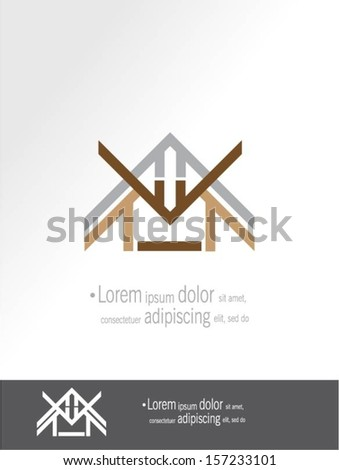 House vector design.