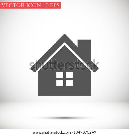 house vector icon 10 eps