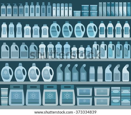 household supplies aisle in the