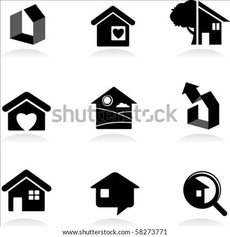 Housing and real-estate icons