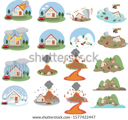 housing disaster insurance icon