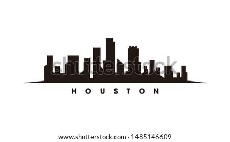 houston skyline and landmarks