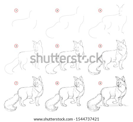 how to draw from nature step by