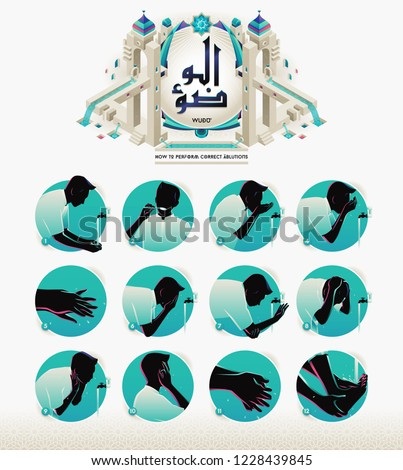 how to perform ablution or wudu