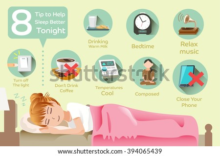 How to sleep better. The problem with insomnia. Changing sleeping habits.