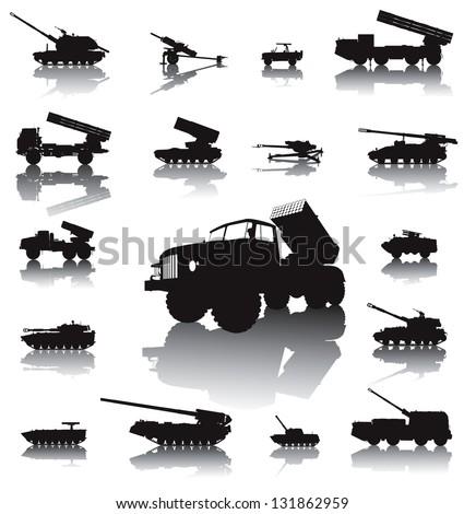 howitzer and rocket artillery