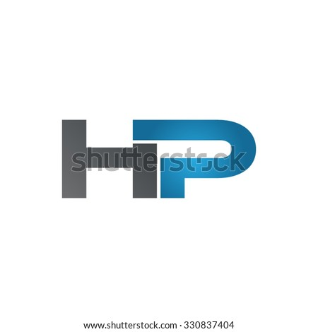 hp company linked letter logo