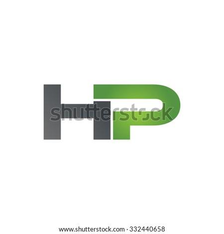 hp company linked letter logo