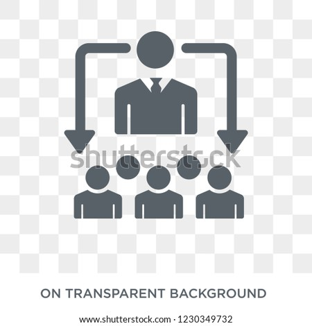 hr solutions icon. Trendy flat vector hr solutions icon on transparent background from general  collection. High quality filled hr solutions symbol use for web and mobile