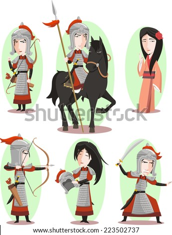 hua mulan chinese female hero