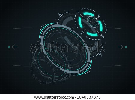 stock-vector-hud-futuristic-element-hi-tech-user-interface-d-navigation-panel-abstract-virtual-technology
