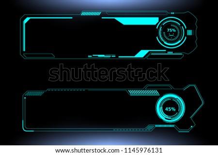 hud futuristic technology