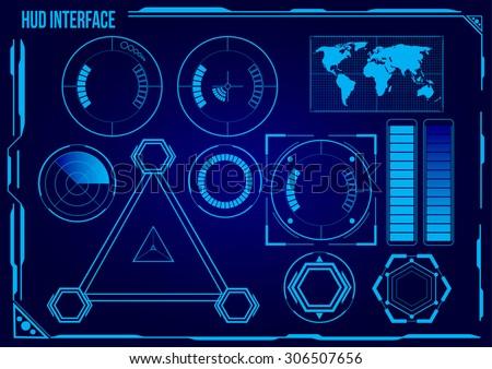 hud sci fi futuristic user
