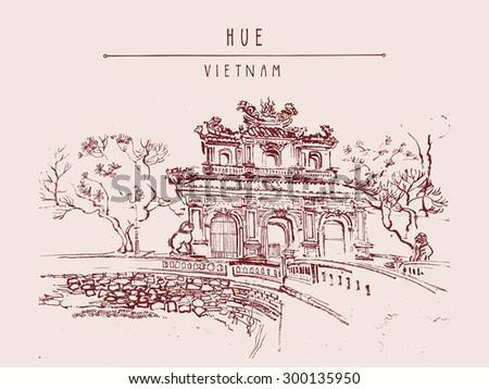 hue  vietnam  southeast asia