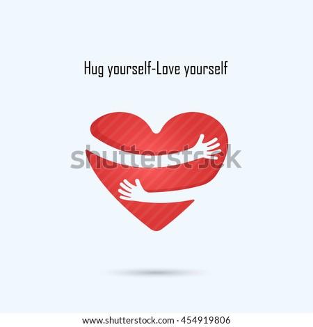 hug yourself logolove yourself