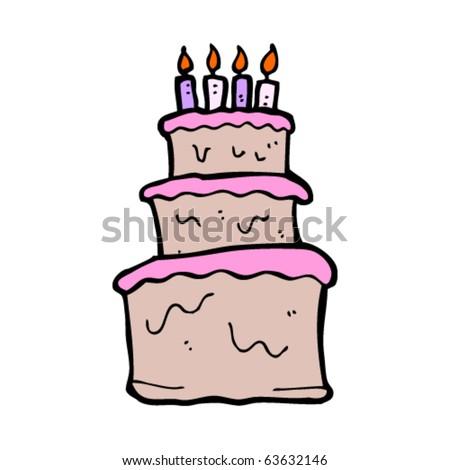 birthday cake cartoon pictures. huge irthday cake cartoon