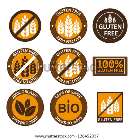 Huge collection gluten free bio seals