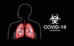 Human Body Organs Anatomy (lung, Respiratory system), Corona covid virus outbreak covid -19