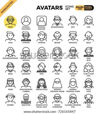 human diversity avatar line