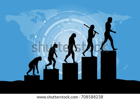 human evolution into the