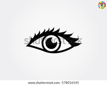human eye  icon  vector