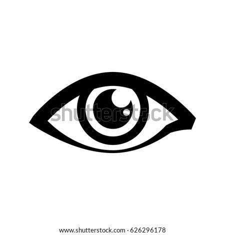 human eye symbol