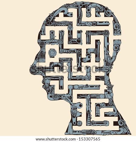 Human Head Maze.