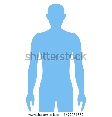 Human icon. Graphic template. Vector illustration Stock photo ©