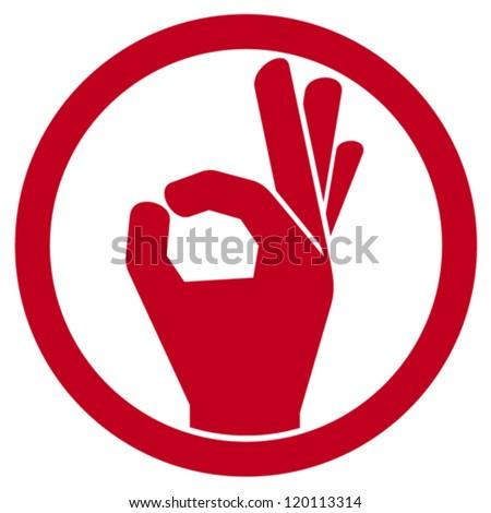 human okay hand sign  ok hand