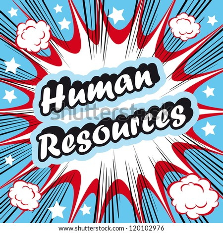 Human Resource HR background  human resources concept