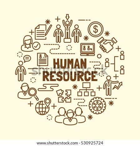 human resource minimal thin